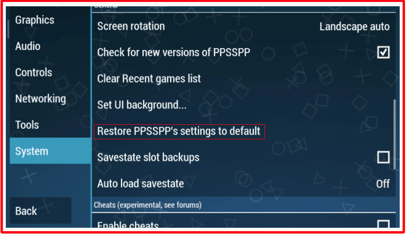cara setting ppsspp gold